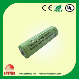 Rechargeable Ni-MH Battery AA2700mAh 1.2V, The Highest Capacity AA Battery pictures & photos