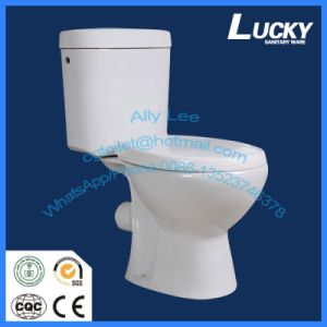 Ceramic 2 Piece Bathroom Toilet for Large Sales Promotion pictures & photos