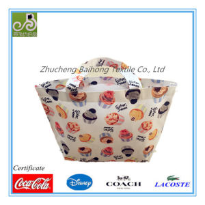 Cake Print Oxford Tote/Hand Bag pictures & photos