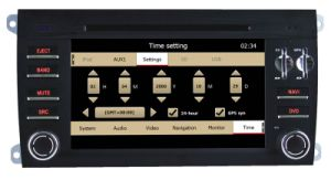 Special Car Audio DVD Player for Porsche Cayenne with GPS Navigation pictures & photos