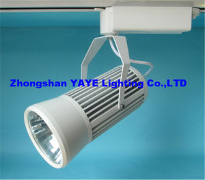 Yaye Zhongshan 2/3/4-Wires COB 20W/30W LED Track Lighting with CE/RoHS/ 3 Years Warranty pictures & photos