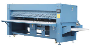 Full Automatic Sheet Folding Machine (Bed sheets, table cloth) : pictures & photos