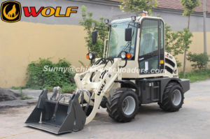 Wolf Mini Wheel Loader Zl08, Radlader, Small Wheel Loader for Sale pictures & photos