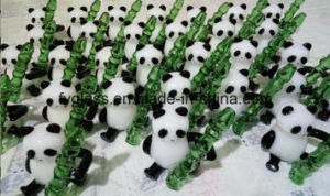 130g Glass Panda Hand Pipe 4.5inch pictures & photos