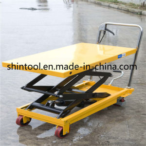 800kg Mini Scissor Lift Table Sps800 with Max. Height 1500mm (Customizable) pictures & photos