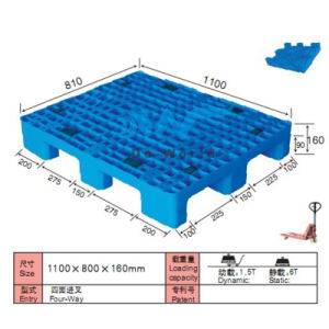 9legs Plastic Pallet for Shopping Mall pictures & photos