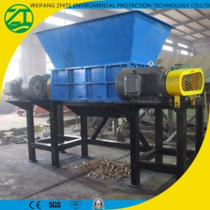 Automobile Car Tire/Plastic/Wood/Kitchen Waste/Municipal Waste/Animal Bone Shredder pictures & photos