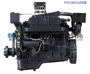 Marine Diesel Engine, G128, 180kw/1800rpm, 4-Stroke, Water-Cooled, Direct Injection, Inline, Shanghai Dongfeng Diesel Engine for Generator Set, Chinese Engine pictures & photos