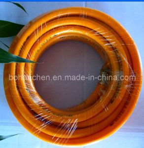 PVC Reinforced Cotton Spray Hose pictures & photos