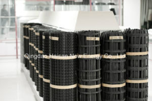 20-600kn/M High Intensity Warp Knitting Polyester/ Pet Geogrid pictures & photos