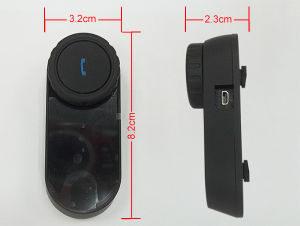 Portable Motorcycle Helmet Wireless Bluetooth Interphone pictures & photos