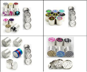 Portable Herb Grinder for Tobacco Smoking Use pictures & photos