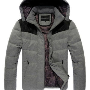 Men Thick Down Warm Jacket