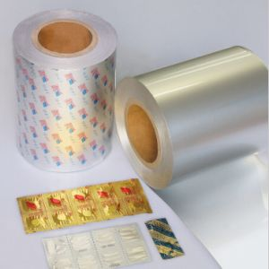 Pharmaceutical Strip/Soft Aluminum Foil (OP/AL/PE) pictures & photos