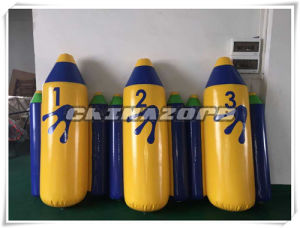 Custom Made Inflatable Missile Floating Tube Water Park Toy pictures & photos