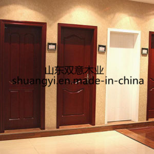 PVC Veneer Painting Coated Interior Wooden Doors pictures & photos