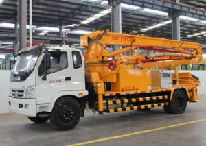 28m Isuzu Truck-Mounted Concrete Delivery Pump (XND5161-25M) pictures & photos