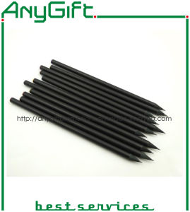 Black Wooden Pencil with Customized Logo pictures & photos