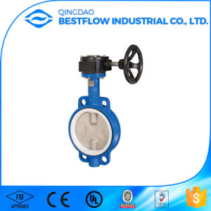 Dn125 Ductile Iron Pneumatic Butterfly Valves pictures & photos