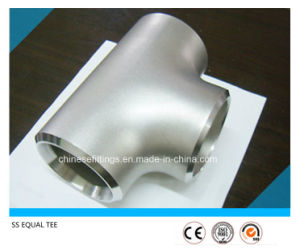 Stainless Steel Ss316 Welded Equal Tee/Straight Pipe Tee pictures & photos
