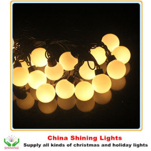 Wholesale Novelty 5cm LED Ball Lights Christmas Holiday Party Garden Decoration pictures & photos