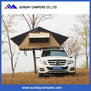 Luxury Offroad Poly Canvas Fabric Car Roof Tent pictures & photos