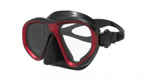 High Quality Silicone Dive Mask with Silicone Skirt and Tempered Glass Lens pictures & photos
