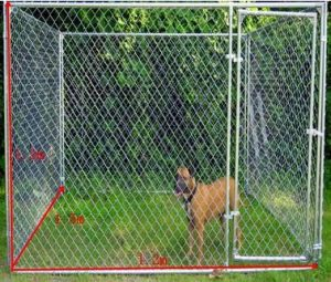 Hight Quality Galvanized Chain Link Dog Fence, Dog Kennel pictures & photos