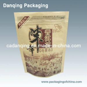 Laminated Material Tea Packaging Bag with Zipper (DQ165) pictures & photos