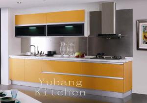 Baked Paint Kitchen Cabinet (M-L67) pictures & photos