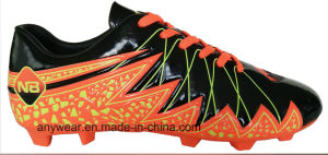 Athletic Footwear Men Football Boots Outdoor Soccer Shoes (815-5638) pictures & photos