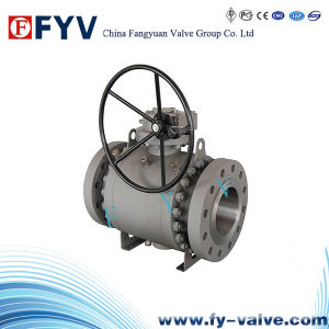 API 3PC Flange Trunnion Ball Valve pictures & photos