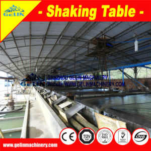 High Quality Shaking Table Mine Concentration, Copper Ore Concentrator for Sale pictures & photos