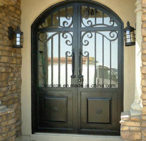 Square Top Custom Steel Front Entry Door pictures & photos