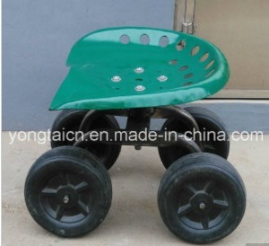 Rolling Garden Work Seat with 4 Wheels pictures & photos