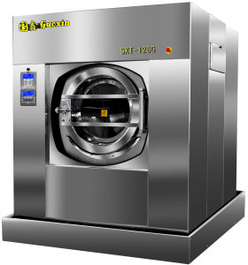 Fully Automatic Tilting Unloading Laundry Machine / Washer Extractor