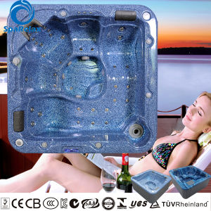 Popular 5 person whirlpool massage bathtub with changeable massage neck collar pictures & photos