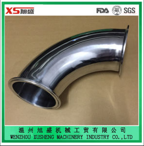 Stainless Steel Ss304 Sanitary Clamping Pipe Bend with Mirror Polished pictures & photos
