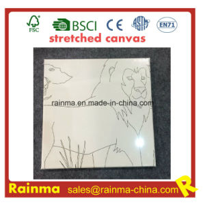 Stretched Canvas with Line Design pictures & photos