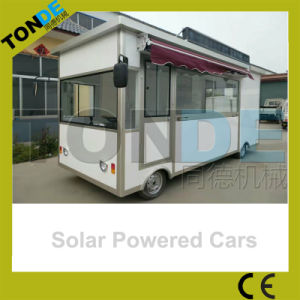 Efficient and Energy Saving Solar Powered Food Cart pictures & photos