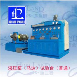 Advanced Technology Comprehensive Hydraulic Pump/Motor/Vale Testing Bench pictures & photos
