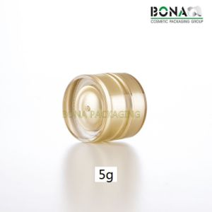 5g 10g 25g 30g Acrylic Small Jar Cosmetic Packaging pictures & photos