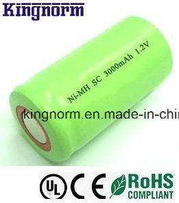 SC 1.2V 3000mAh Low Self-Discharge NiMH Battery pictures & photos