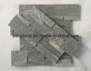 18*35cm Green Quartzite Interior & Exterior Decoration Slate Stone Wall Panels pictures & photos