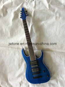 7 String Neck Through Body OEM Quality Electric Guitar pictures & photos