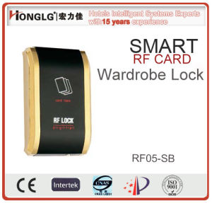 Customised Logo RF Card Wardrobe Lock (RF05) pictures & photos