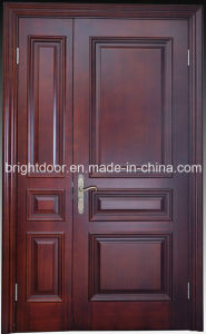Latest Design Oak Wood Exterior Main Door Models Design Supplier pictures & photos