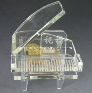 Wedding Gifts Transparent Crystal Piano (KS29052) pictures & photos