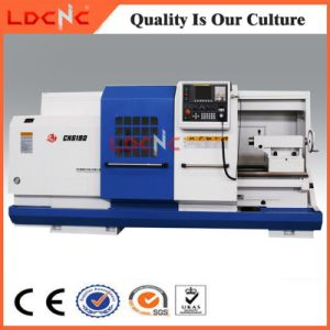 High Precision Horizontal Flat Bed CNC Metal Lathe for Sale pictures & photos