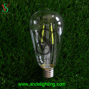 4W St64 Glass LED Bulb for E27 Scoket pictures & photos